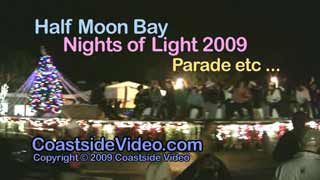 Half Moon Bay Nights of Light 2009 Parade etc