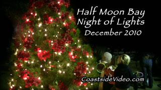 video link - Half Moon Bay Night of Lights parade and more