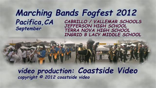 video link: Marching Bands Fogfest 2012
