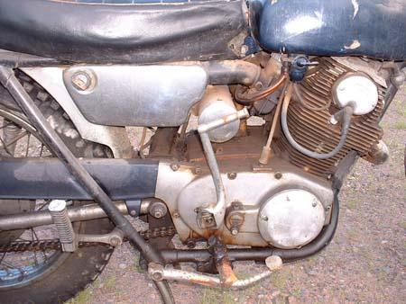 Honda 305 Scrambler >> 1966 Honda 305 CL77 Scrambler