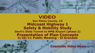 video link - Midcoast Hwy-1 Safety and Mobility Study