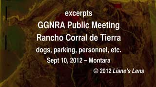 video link - GGNRA public meeting Sept 10, 2012
