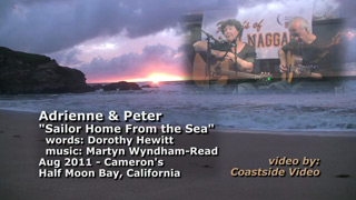 video link - Adrienne and Peter - Sailor Home From the Sea