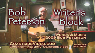 video link - Bob Peterson - Writers Block