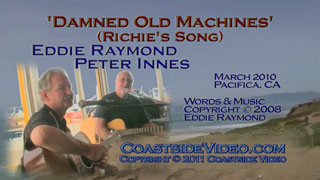 Video: Eddie Raymond and Peter Innes 'Damned Old Machines' i link