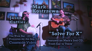 video link - Mark Kostrzewa 'Solve for X'