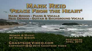 Mark Reid - Peace From the Heart video - Link