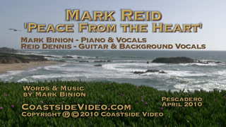 Mark Reid song: Peace From the Heart - Link