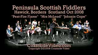 Peninsula Scottish Fiddlers - Peat-Fire  Flame set - Link