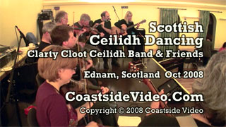 Clarty Cloot Ceilidh Band - Scottish ceilidh - Video link